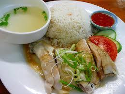Herenboeren soepkip wordt Hainanese Chicken Rice