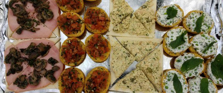 Tramezzini – kip met kappertjes en knoflookmayonaise