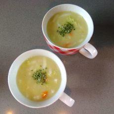 Gebonden chinese kool soep