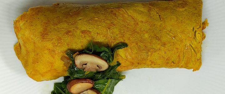 snijbiet omelet
