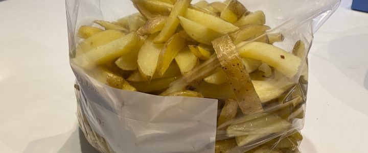 Diepvries patat